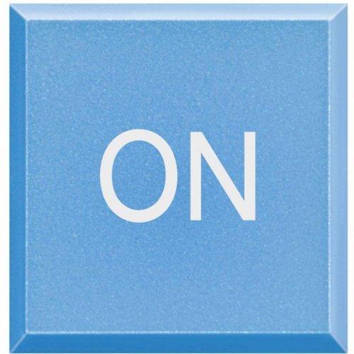 """Клавиша сменная с символами для кнопок с подсветкой HC-HS-4038LA/""""ON"""" Axolute Leg BTC H4920LM"""
