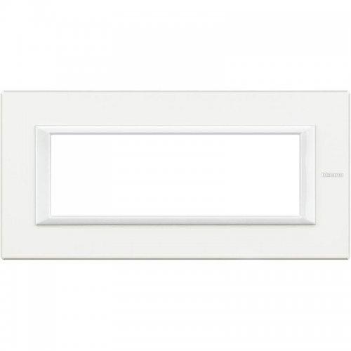 Рамка 6мод. Axolute прямоугол. бел. Leg BTC HA4806HD
