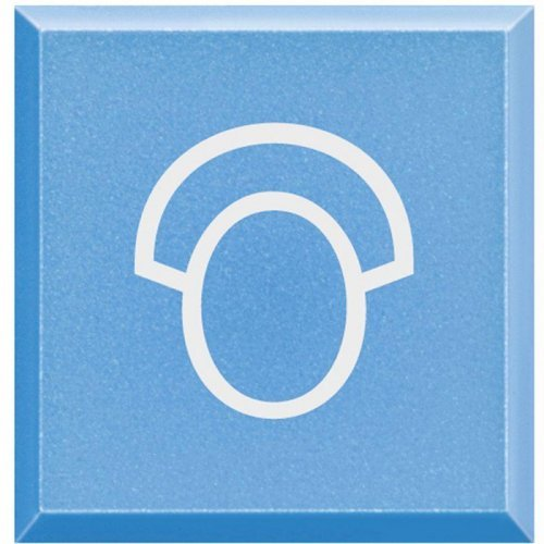 """Клавиша сменная с символами для кнопок с подсветкой HC-HS-4038LA/""""Медсестра"""" Axolute Leg BTC H4920LQ"""