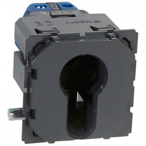 Механизм выключателя 1-кл. 3п СП Celiane 6А IP41 230В с ключом с 3 положения Leg 067039