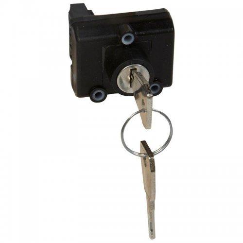 Механизм выключателя 1-кл. СП Celiane 0.1А IP21 24В с ключом для авар. светильн. Leg 067531