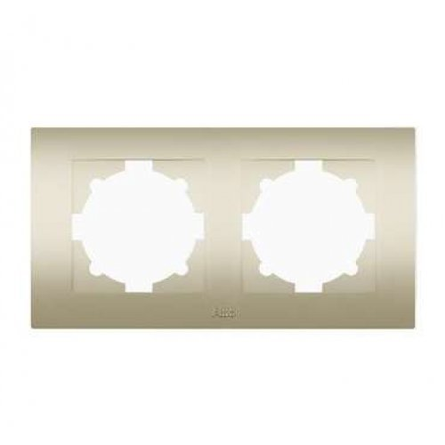 Рамка 2-м Cosmo титаниум ABB 612-011400-226
