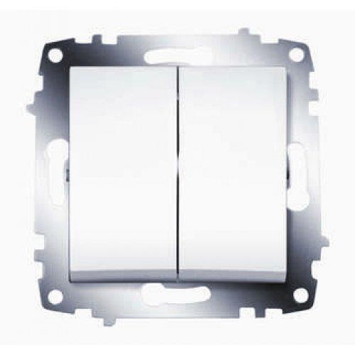 Механизм выключателя 2-кл. СП Cosmo 10А IP20 бел. ABB 619-010200-202