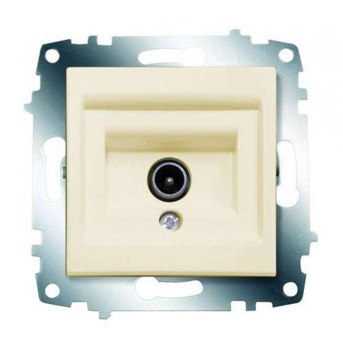 Механизм розетки TV Cosmo без потерь с экранированием крем. ABB 619-010300-274