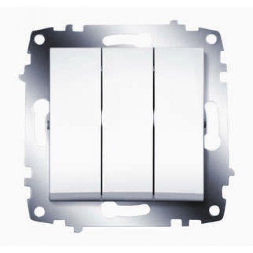 Механизм выключателя 3-кл. СП Cosmo 10А IP20 бел. ABB 619-010200-254