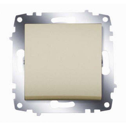 Механизм выключателя 1-кл. СП Cosmo 10А IP20 титаниум ABB 619-011400-200