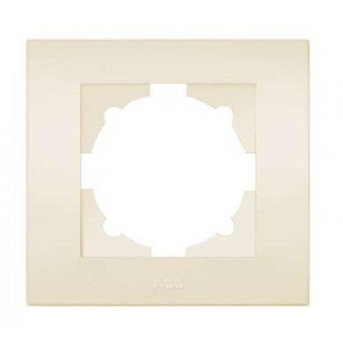 Рамка 1-м Cosmo крем. ABB 612-010300-271