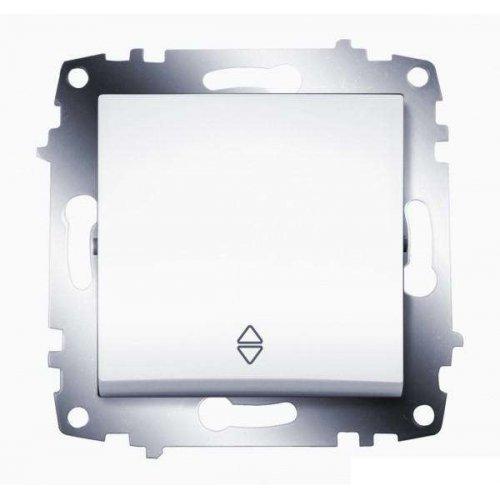 Механизм переключателя 1-кл. Cosmo схема 6 бел. ABB 619-010200-209