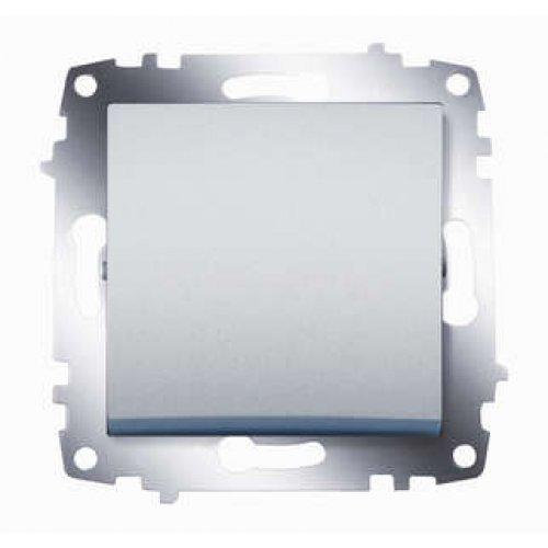 Механизм выключателя 1-кл. СП Cosmo 10А IP20 алюм. ABB 619-011000-200
