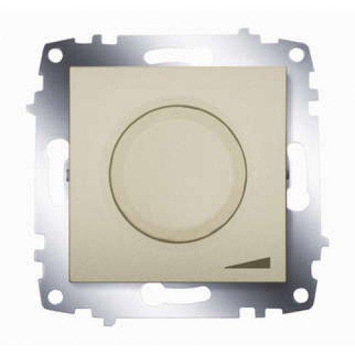 Диммеры Cosmo 800Вт поворот. с подсветкой титаниум ABB 619-011400-192