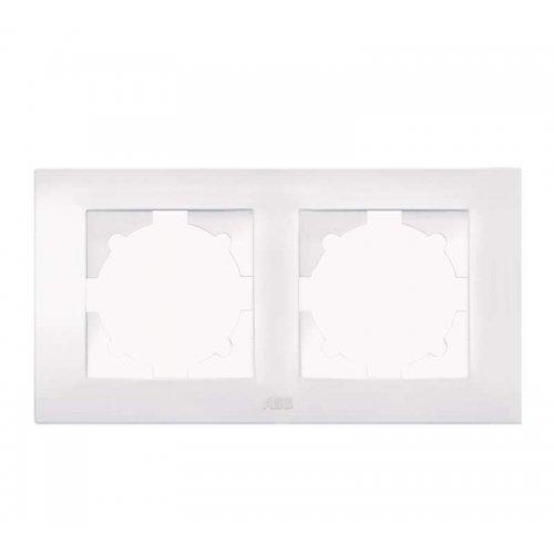 Рамка 2-м Cosmo бел. ABB 612-010200-226