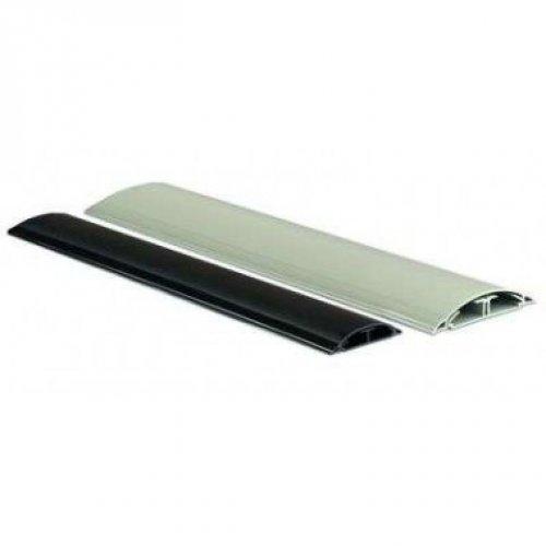 Кабель-канал напольный 75х17 L2000 пластик CSP-F A черн. ДКС 01333