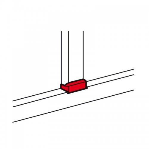 Отвод Т-образный для кабель-канала DLP 105х50 шир. 80мм Leg 010739
