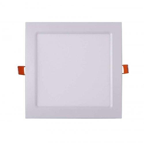 Светильник светодиодный ультратонкий встраив. PPL-S 18Вт 6500К IP40 WH 220мм квадрат Jazzway 5009752A