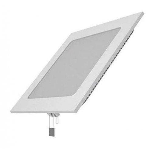 Светильник светодиодный LED 12Вт 2700К IP20 встраив. ультратонкий квадрат. Gauss 940111112
