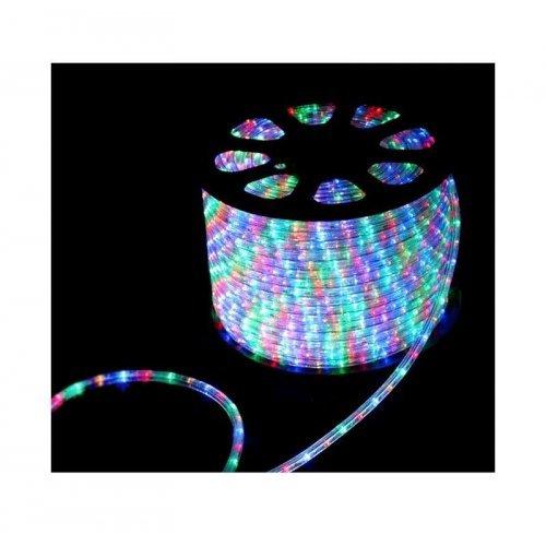 Шнур светодиодный Дюралайт чейзинг круглый 13мм 30LED/м мульти 2Вт/м 220В IP54 (уп.100м) NEON-NIGHT 121-329-6