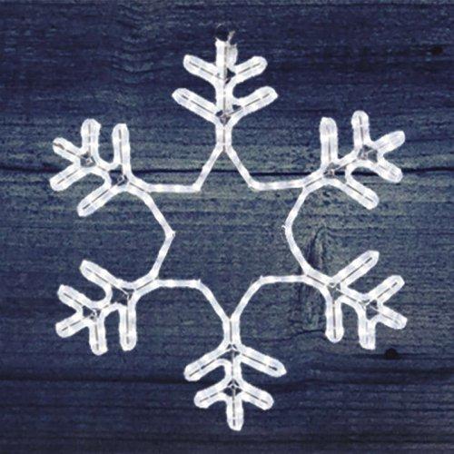 """Фигура из дюралайта """"Снежинка"""" 55смх55см 28Вт 220В IP44 бел. NEON-NIGHT 501-334"""
