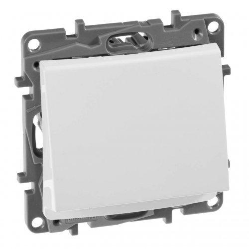 Механизм выключателя карточный 1-кл. СП Etika 2А с выдержкой врем. и подсветкой бел. Leg 672293