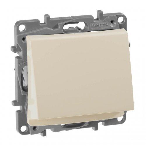 Механизм выключателя карточный 1-кл. СП Etika 2А с выдержкой врем. и подсветкой сл. кость Leg 672393