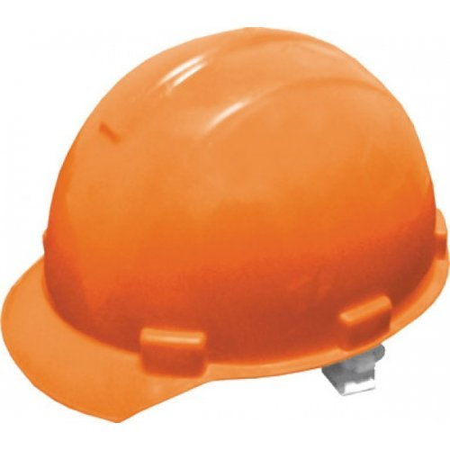 Каска защитная, оранжевая
