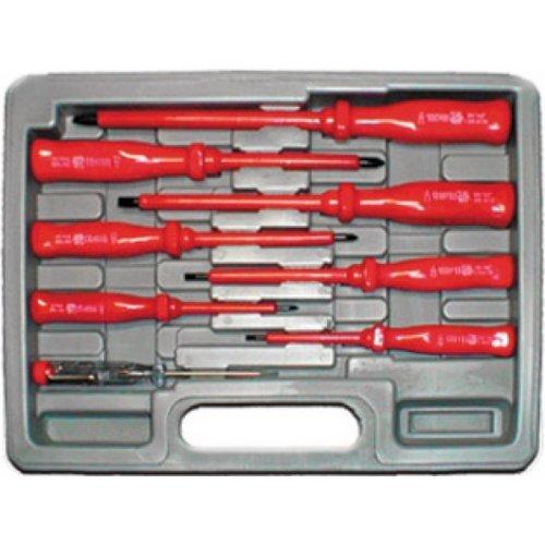 Набор отверток 7 шт с изолированными ручками 1000 В
