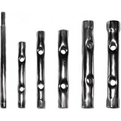 Ключи трубчатые свечные набор 6 шт. 6-17 мм