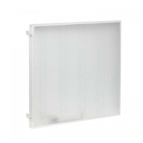 Светильник светодиодный ДВО 404045-MP Грильято 40Вт 4500К IP40 панель призма (с драйвером) ИЭК LDVO1-404045GL-40-MP-K01