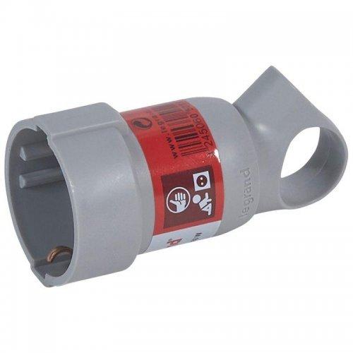 Розетка штепсельная Helium 2К+3 сер. Leg 050193