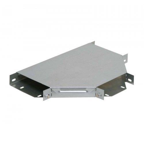 Ответвитель для лотка Т-образ. 80х500 R300 HDZ ИЭК LLK2T-080-500-HDZ