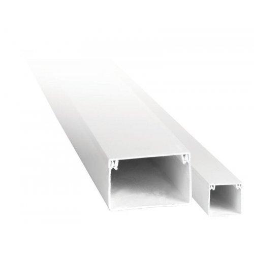 Кабель-канал 80х60 L2000 пластик EKF kk-80-60-basic