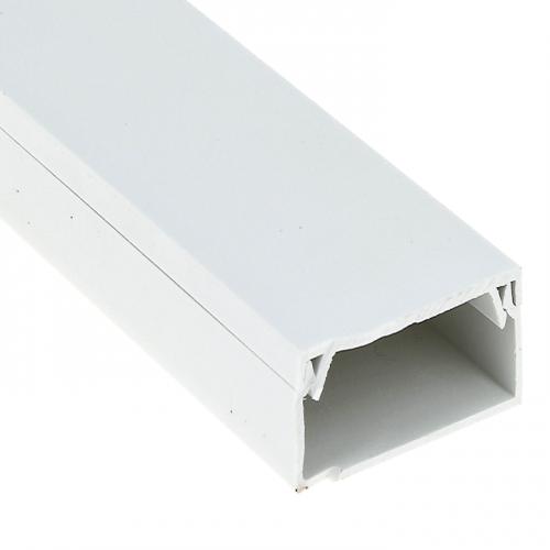 Кабель-канал 80х60 L2000 пластик Plast PROxima EKF kk-80-60