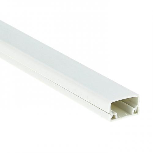 Кабель-канал 20х10 L2000 пластик Plast PROxima EKF kk-20-10