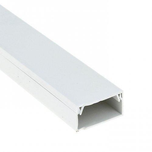 Кабель-канал 40х25 L2000 пластик Plast PROxima EKF kk-40-25