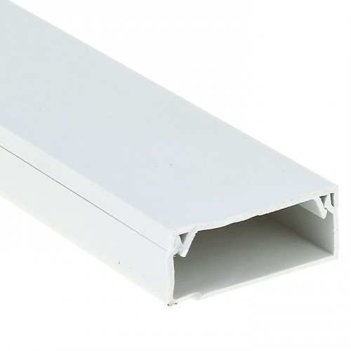 Кабель-канал 80х40 L2000 пластик Plast PROxima EKF kk-80-40