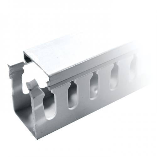 Кабель-канал перфорированный 80х80 L2000 пластик PROxima EKF kk80-80