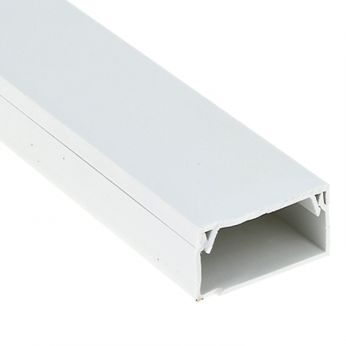 Кабель-канал 60х40 L2000 пластик Plast PROxima EKF kk-60-40
