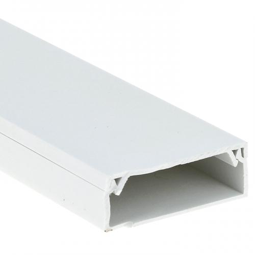 Кабель-канал 100х40 L2000 пластик Plast PROxima EKF kk-100-40