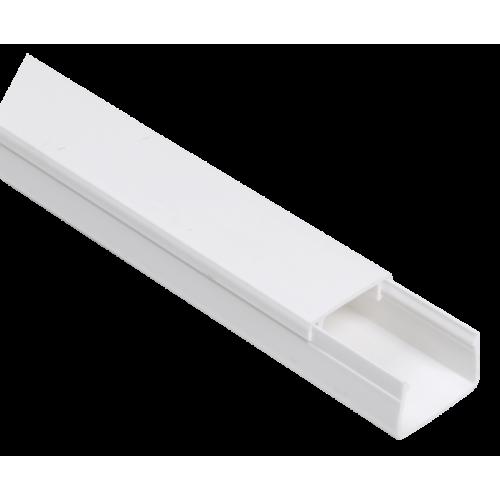 Кабель-канал 25x16мм белый ЭЛЕКОР (50м)