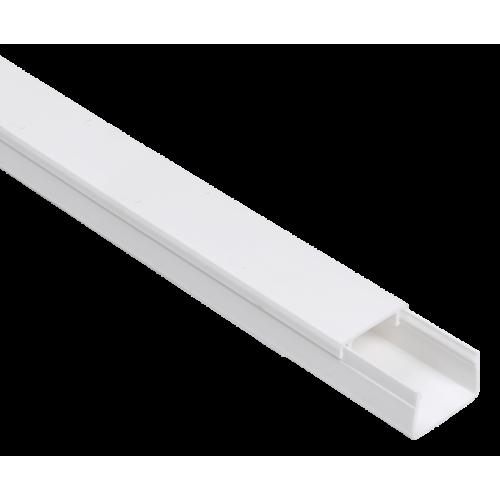 Кабель-канал 20x10мм белый ЭЛЕКОР (96м)