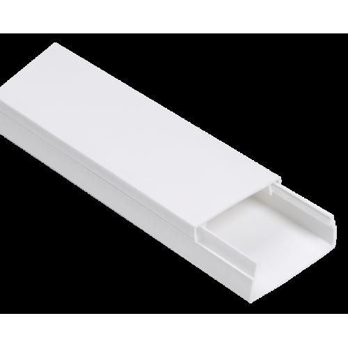 Кабель-канал 40x25 белый ЭЛЕКОР (24м)