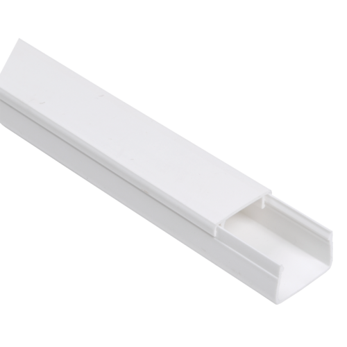 Кабель-канал 25x25мм белый ЭЛЕКОР (32м)