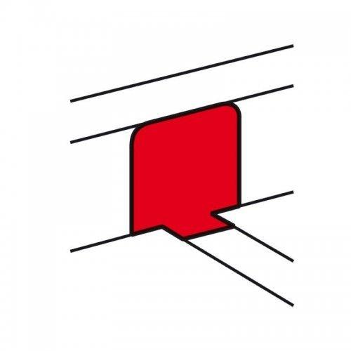 Переходник на напольный кабель-канал для крышки 65мм Leg 010771