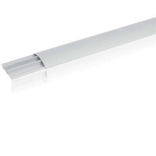 Кабель-канал напольный 75х18 L2000 пластик сер. Leg 030093