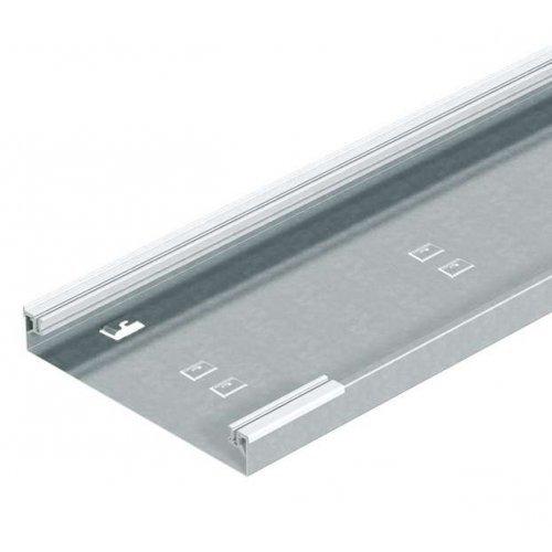 Кабель-канал напольный 350х75 L2400 сталь AIKU 35075 оцинк. OBO 7404720