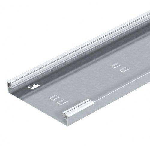 Кабель-канал напольный 250х40 L2400 сталь AIKA U 25040 оцинк. OBO 7404882