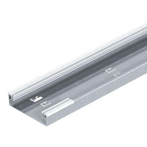 Кабель-канал напольный 250х40 L2400 сталь AIKU 25040 оцинк. OBO 7404712