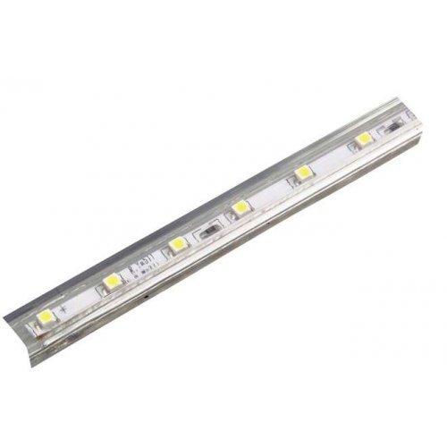 Лента светодиодная MVS-2835/60-IP68-220V-B-1m 220В 4.8Вт/м син. свет (уп.100м) JazzWay 5004276