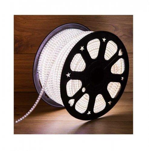 Лента светодиодная SMD3014 6х10.6мм 120LED/м 220В IP67 бел. (уп.100м) NEON-NIGHT 142-801