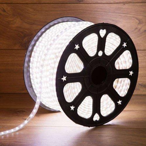 Лента светодиодная SMD5730 6.5x13мм 60LED/м 220В IP67 бел. (уп.100м) Neon-Night 142-701