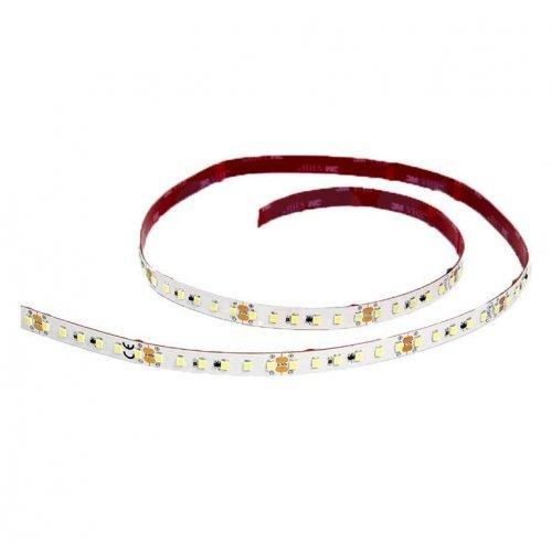 Лента светодиодная SMD2835 12Вт/м 120LED/м 24В IP23 бел. (уп.5м) Lamper 141-605